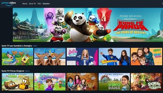 migliori cartoni animati Amazon Prime Video Bambini