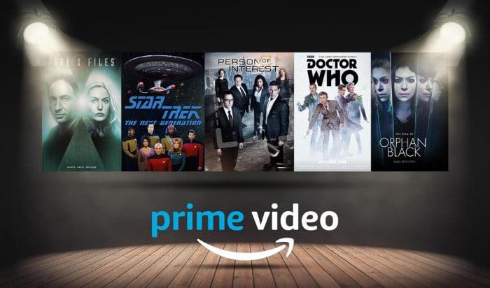 serie tv fantascienza amazon prime video