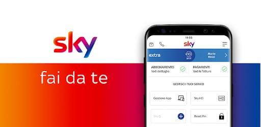 sky fai da te funziona app sito login chat