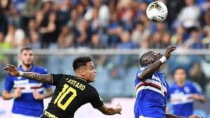 inter sampdoria in tv streaming 21 giugno