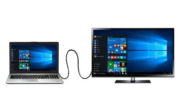 collegare Computer alla TV con cavo HDMI