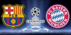 barcellona bayern monaco in tv streaming
