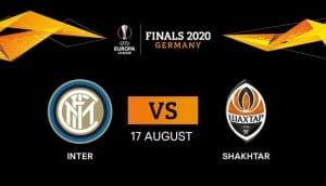 inter shakhtar in tv in chiaro europa league