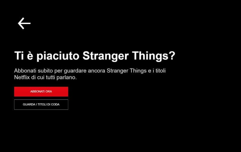 netflix gratis stranger things