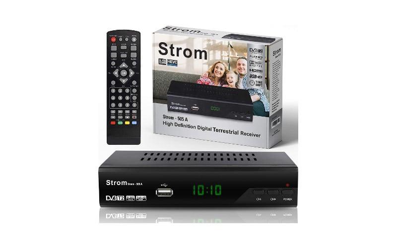 Strom 505 Decoder Digitale Terrestre DVB T2