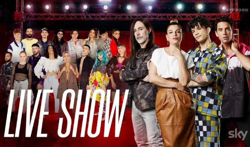 finale x factor 2020 tv8 streaming