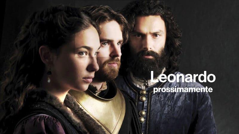 leonardo fiction tv rai cast puntate streaming